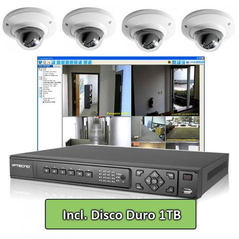 Venta e instalación sistemas de video vigilancia y