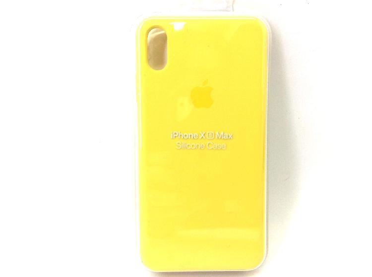 Apple iphone x max silicona case