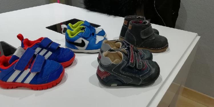 Botitas y zapatillas bebe
