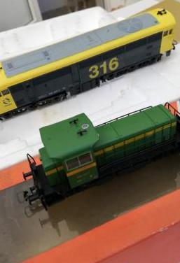 Locomotoras renfe ho
