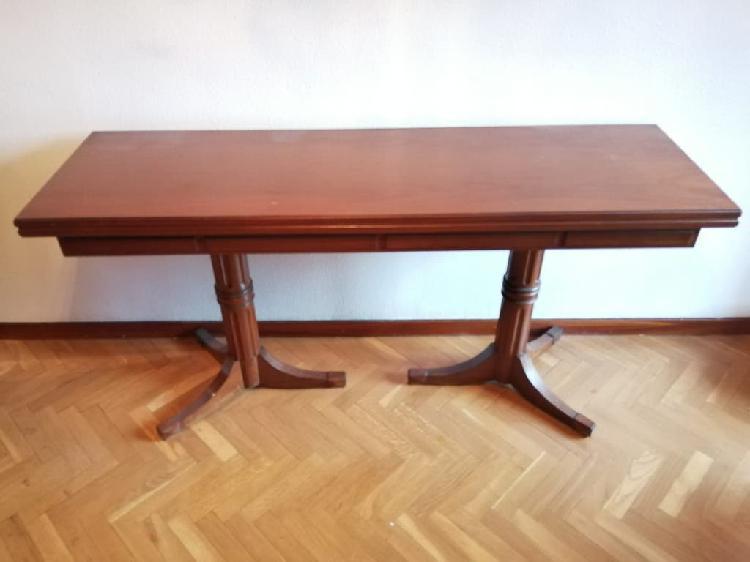 Mesa libro para comedor madera maciza