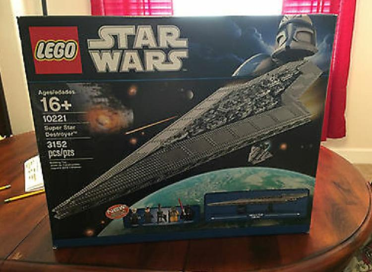 Nave star wars de lego nueva
