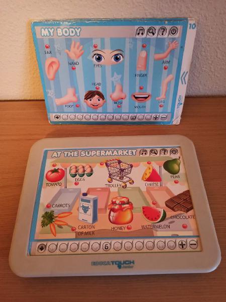 Tablet educa touch en ingles