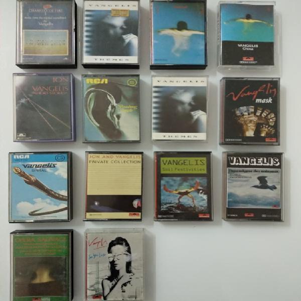 15 vangelis cintas cassettes discografia