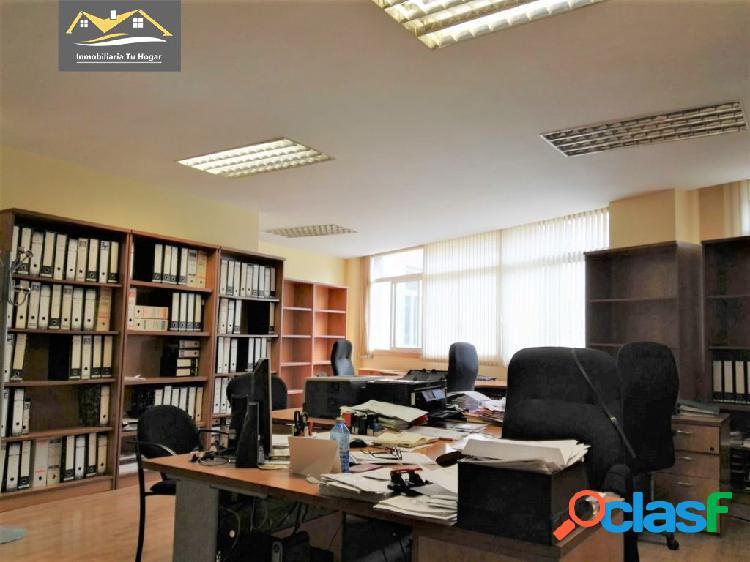 Se alquila oficina de 80 m2 en el centro (parque de san lázaro) ref: 3514