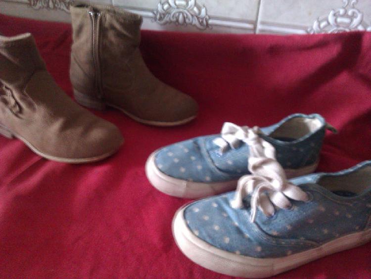 2 botas y zapatillas niño/niña (talla 27)