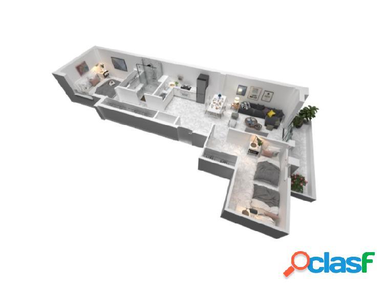 Apartamento de 2 habitaciones en puerto santiago