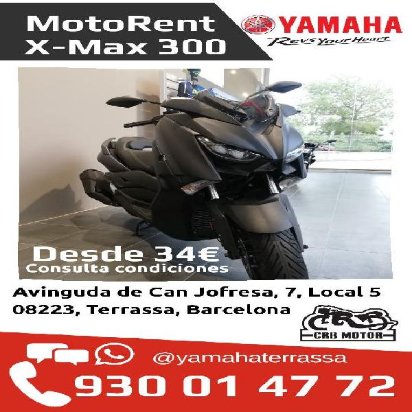 Alquiler scooter yamaha x-max 300