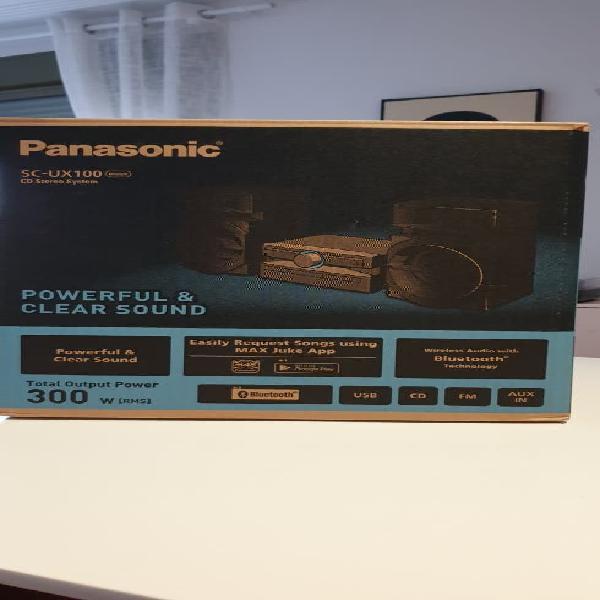 Altavoces nuevos sistema sonido panasonic sc-ux100