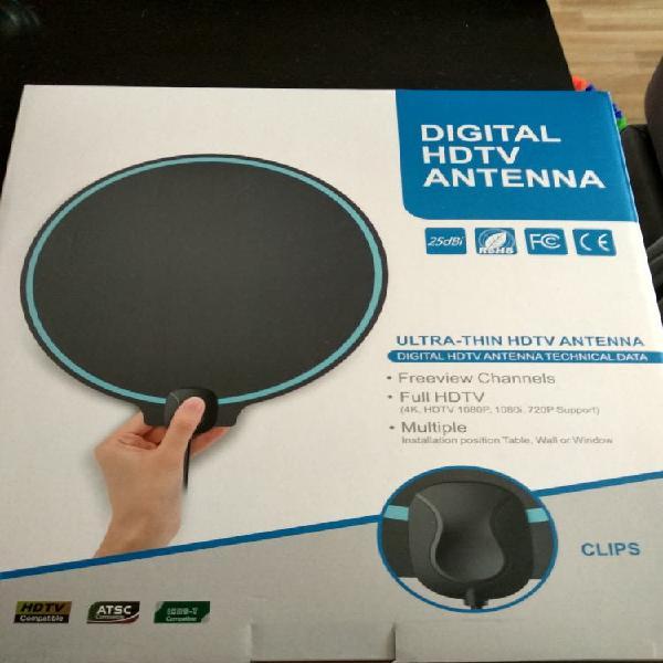 Antena digital de interior hdtv