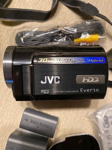 Cámara de vídeo jvc everio