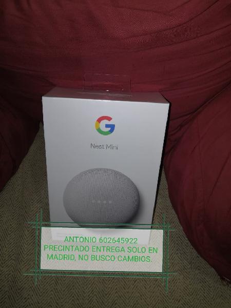 Google nest mini 2 °generación precintado