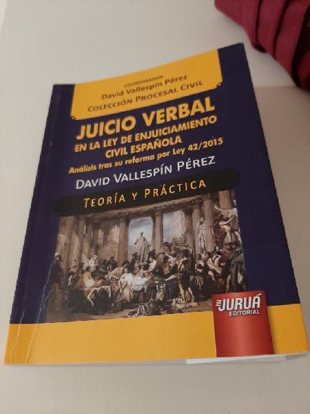 Juicio verbal en la ley de enjuiciamiento civil