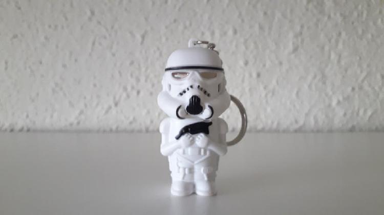 Llavero star wars soldado imperial led