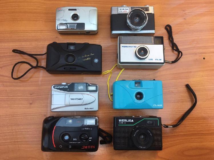 Lote de cámaras fotográficas