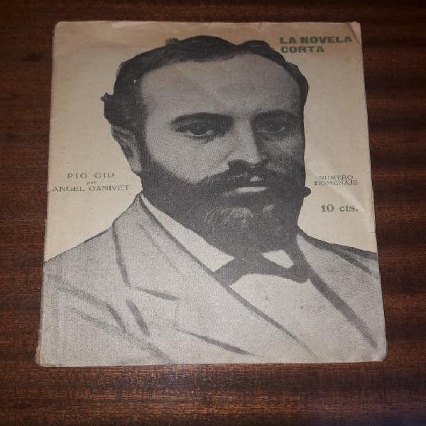 Pio cid por ángel ganivet. edicion 1919