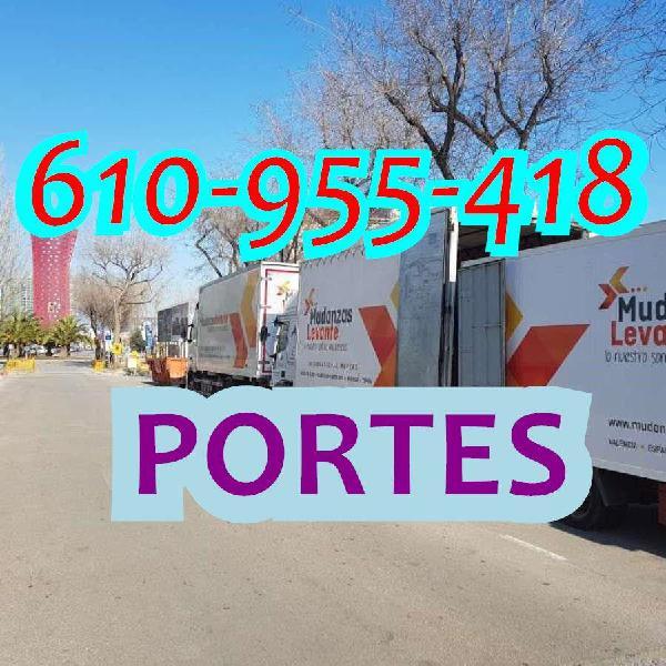Portes, traslados y minimudanzas express co