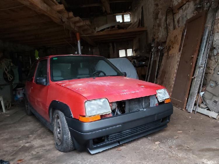 Renault supercinco gt turbo 1988