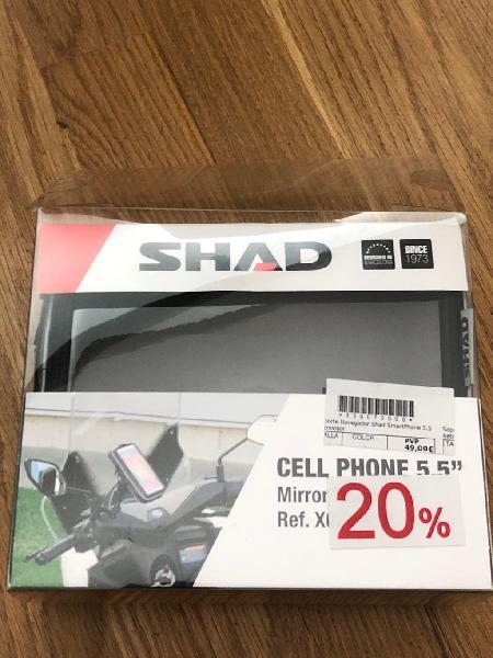 Soporte shad teléfono móvil moto