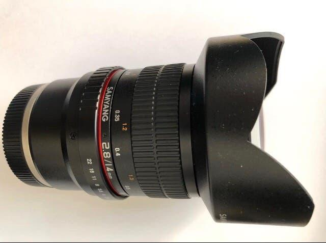 Samyang 14mm f2.8 sony fe mf