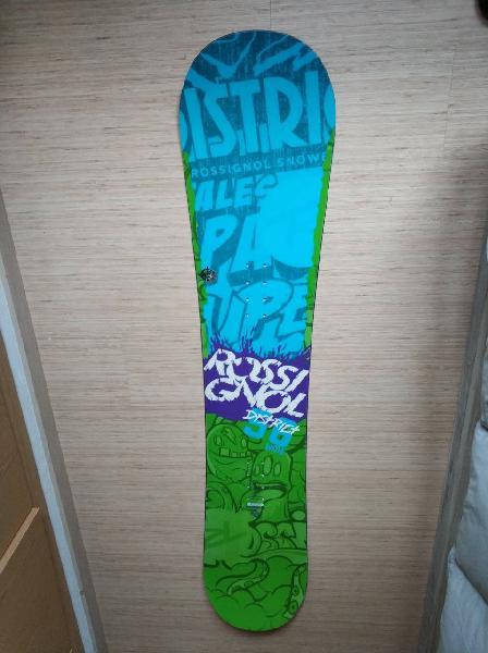 Tabla snowboard rossignlol + fijaciones