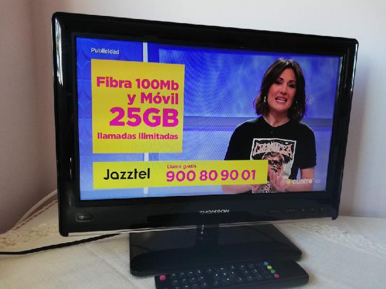 Televisión hd thomson 19 pulgadas