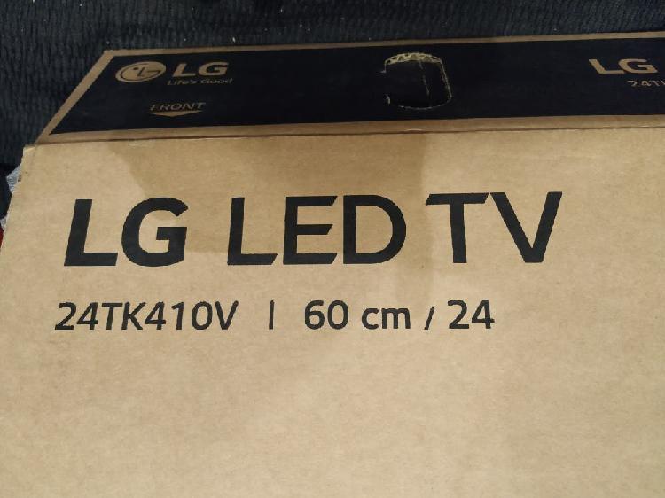 """Televisión. tv led de 24"""". nueva a estrenar."""