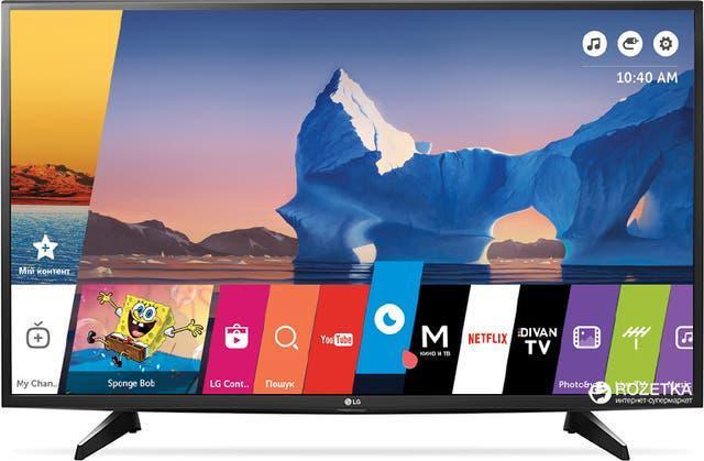 Television smart tv lg de 43 pulgadas 4k ultra hd