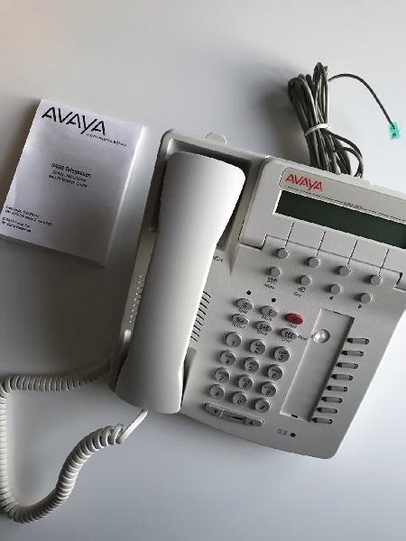 Teléfono digital de cable no ip marca avaya nuevo