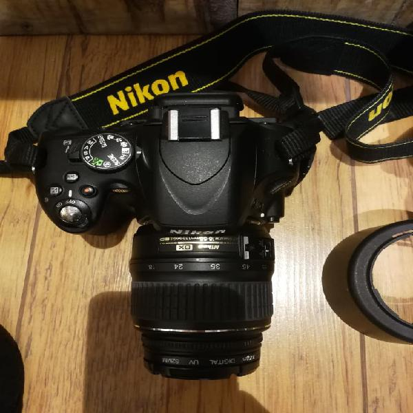 Vendo camara de fotos nikon 5100