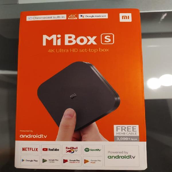 Xiaomi mi box s 4k tv box
