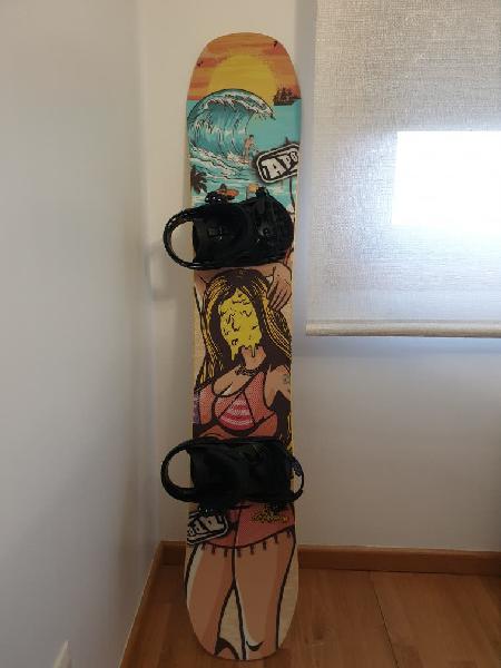 Equipo snowboard a estrenar!! ganga!!