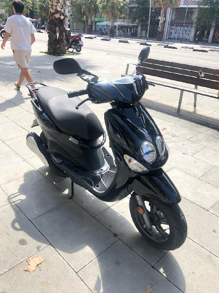 Moto, yamaha neos 50cc, año 2016, tiene 11150 km
