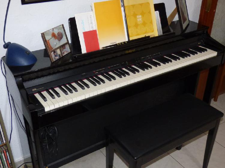 Piano digital roland hp 305 rw+banqueta+auricular