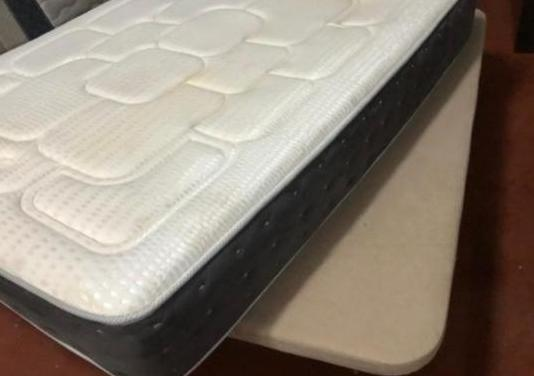 135x180 base tapizada colchon visco