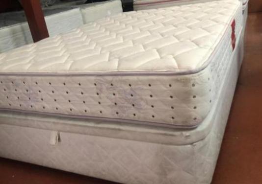 135x190 canape tapizado +colchon promobil