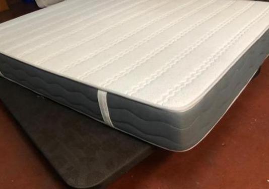150x190 base retapizada 3d colchon visco