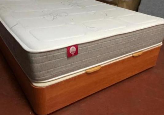 150x190 canape madera flex+colchon pikolin visco