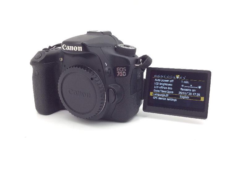 21 % camara digital reflex canon eos 70d