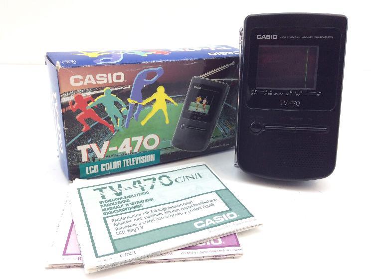 21 % televisor lcd portatil casio tv-470c portatil