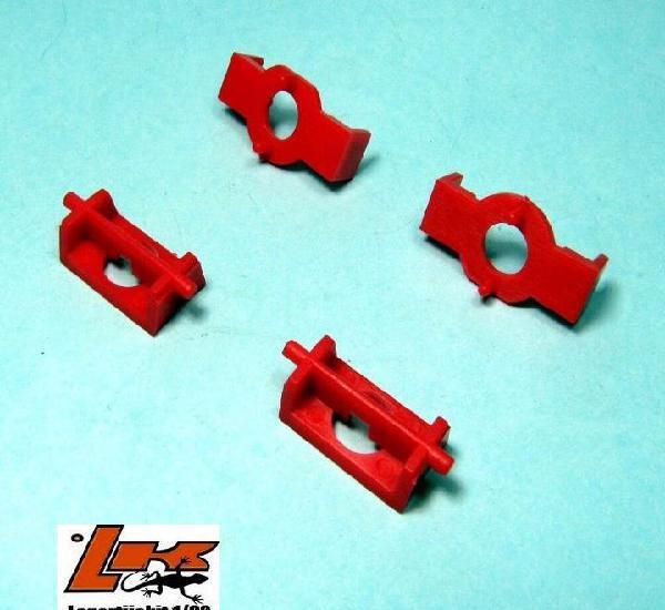 2x adaptador motor scalextric rx4 a motor abierto rx1 exin