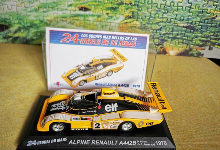 Alpine renault a442b le mans