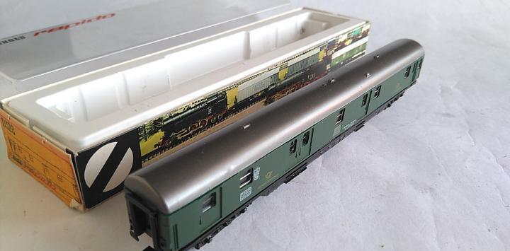 Arnold n furgón correos con luz, en caja.válida