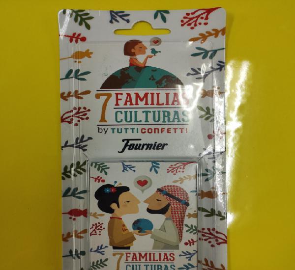 Baraja 7 familias culturas ny tutty confetti
