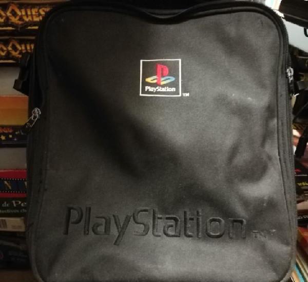 Bolsa playstation - bolso bandolera de consola - logo
