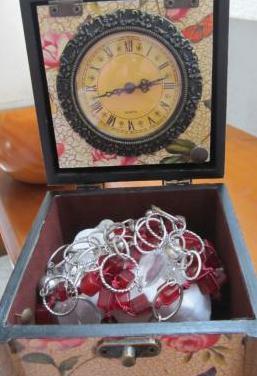 Baúl reloj vintage