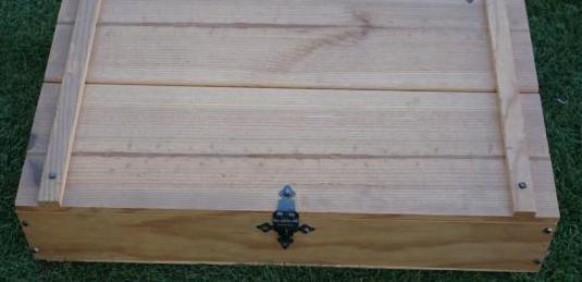 Caja madera 58x35x12