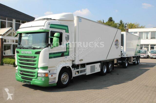 Camión remolque scania frigorífico thermoking r 450 e6