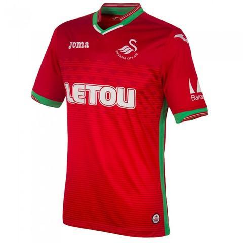 Camiseta futbol swansea primera 2018