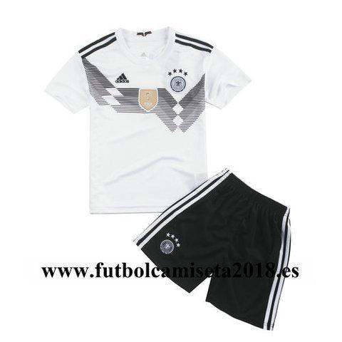 Camiseta nino alemania primera equipacion copa mundial 2018